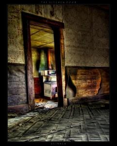 The Kitchen Door by CellarDweller