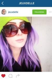 Instagram selfie by jeuxdelle