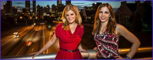 The Digital Dive Podcast Emily and Melanie Atlanta skyline