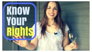 know your rights- emily- youtube thumbnail