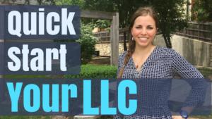 quick start your LLC video thumbnail