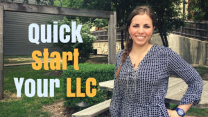 Quick Start Your LLC video image