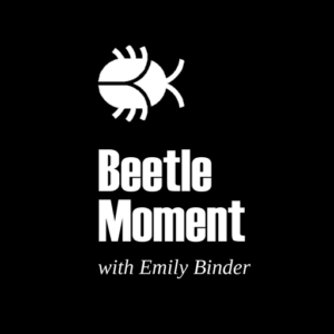 Beetle Moment Marketing Flash Briefing logo - with Emily Binder