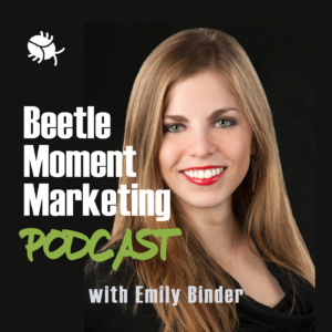 beetle moment marketing podcast icon