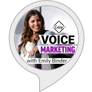 Voice Marketing Flash Briefing Alexa skill icon