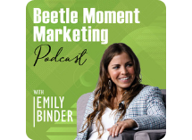 Beetle Moment Podcast logo small horizontal
