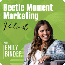 beetle moment marketing podcast logo small
